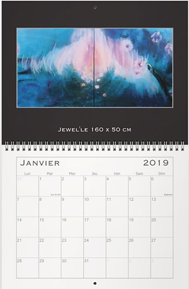 Calendrier 2019/ Calendar/カレンダー