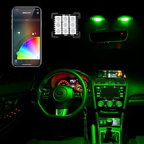 LED Dome Light Bulb Kit | XKchrome Smartphone App Controlled