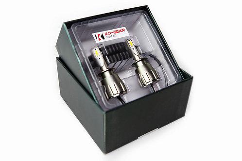 D4C 5000k Koolbeam LED Headlight Globes (pair)