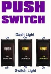 Nissan Push Switch Dash Light