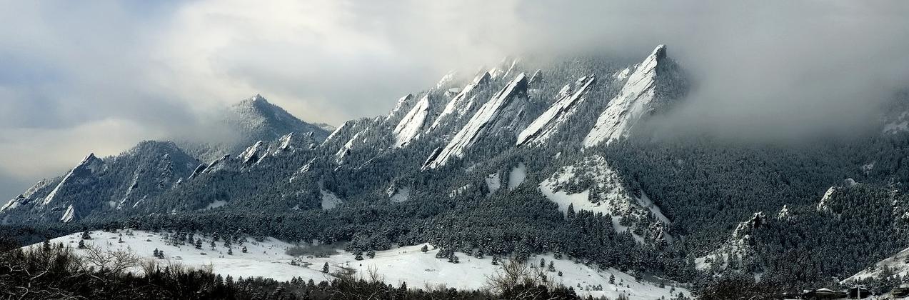Snowy Flat Irons