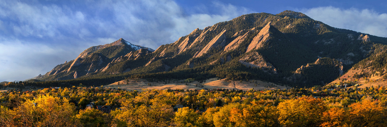 Autumn in Boulder