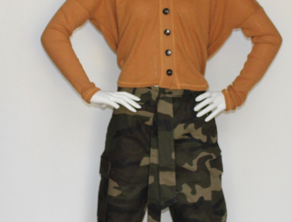 Camouflage Casual Pant