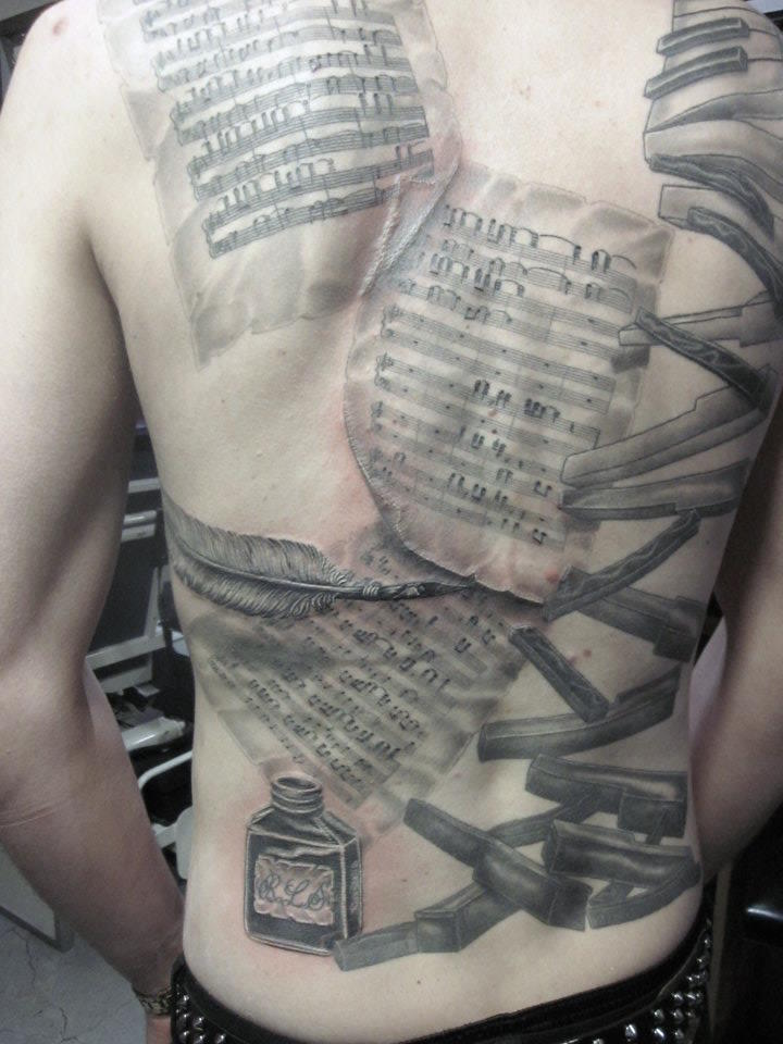 Music Backpiece
