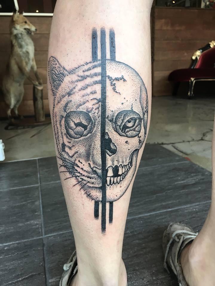 Tiger / Skull