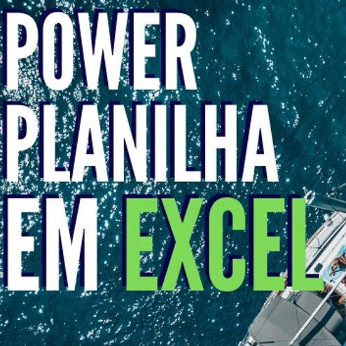 Planilha Power Controle financeiro Empresarial