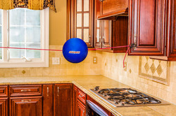Kitchen Cabinet set up