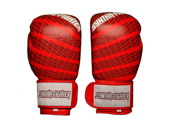 Boxing Gloves - WITH GRAPHICS (Red)