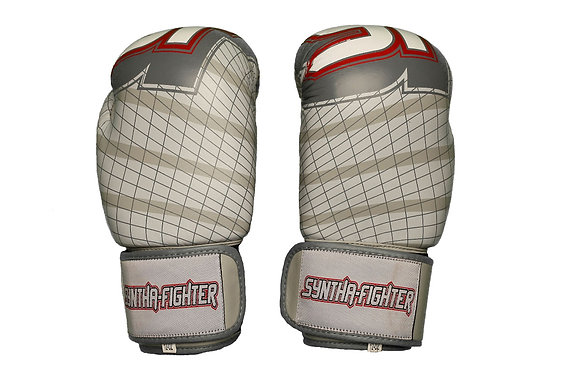 Boxing Gloves - WITH LARGE GRAPHICS (Light Grey)