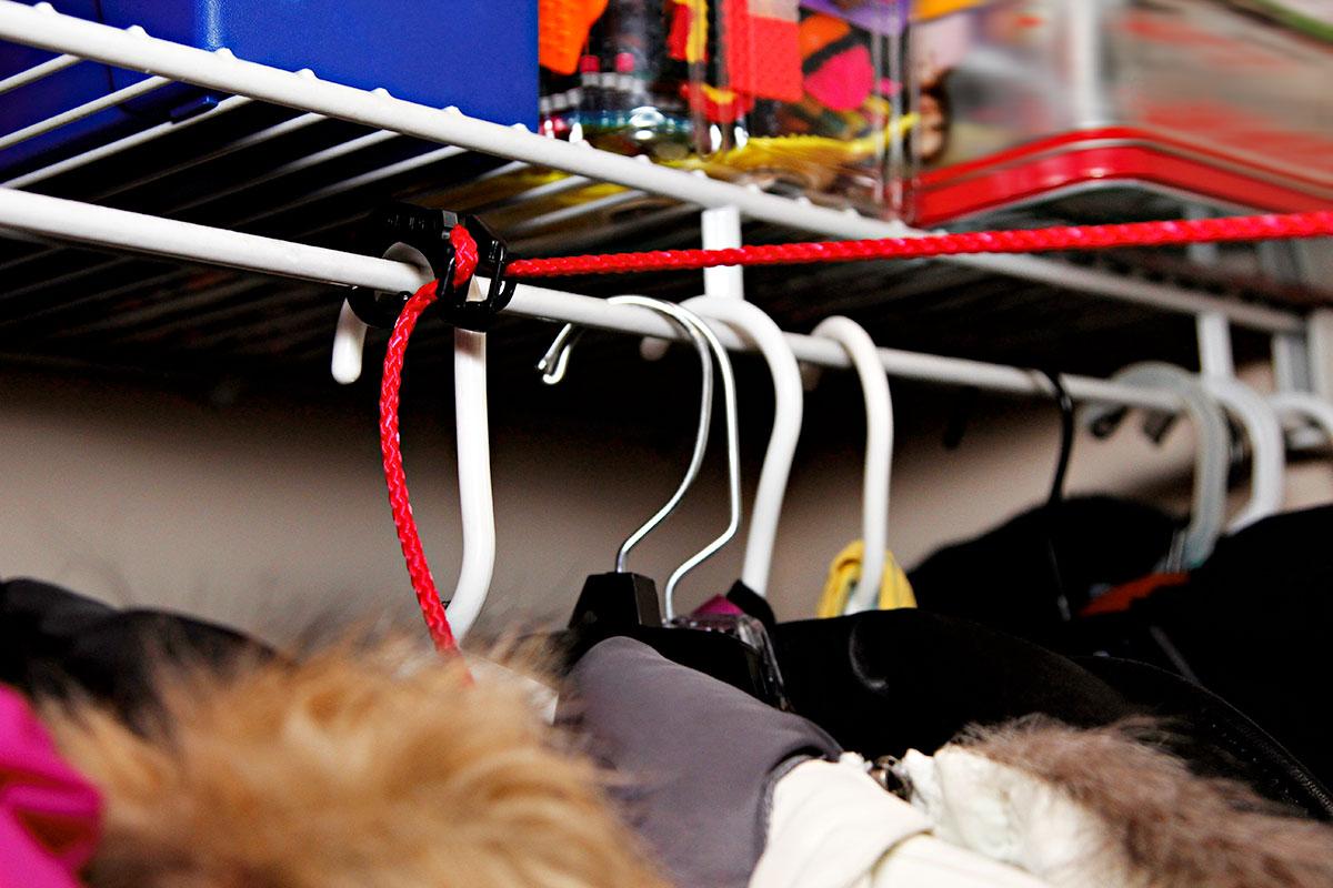 Closet set up