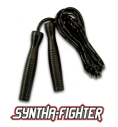 Syntha-Fighter - Black Jump Rope