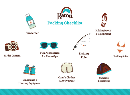 What To Pack for Raton