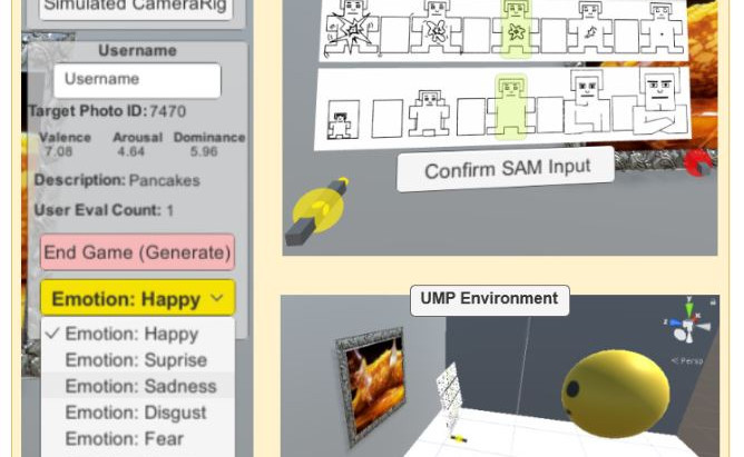 iSAM: Personalizing an Artificial Intelligence Model for Emotion in Immersive Virtual Reality