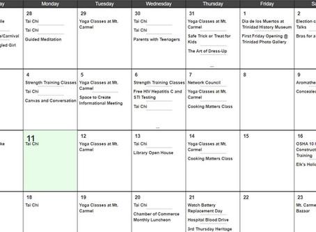 City Calendar of Events