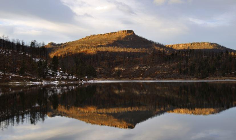 Sugarite Canyon State Park  Lake Maloya