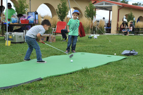 Miniature golf at the Gate City Music Festival, Raton, NM - Raton, New Mexico