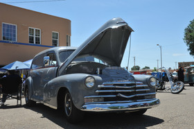 Classic Cars at the Run to Raton Annual Event, Raton, NM - Raton, New Mexico