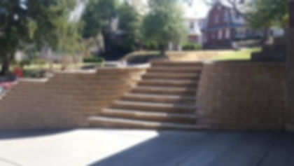 Decorative Stone Retaining Wall Louisville KY