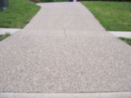 Exposed Aggregate Concrete Driveway Louisville KY