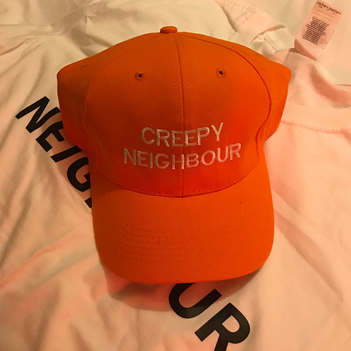 Orange cap - CREEPY NEIGHBOUR