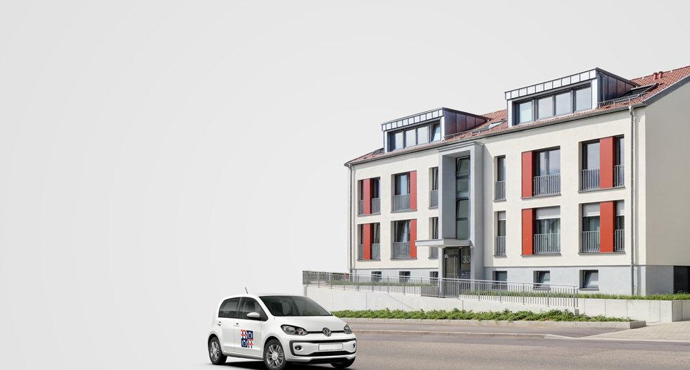 Willkommen bei der Baugenossenschaft Gartenstadt Luginsland eG.