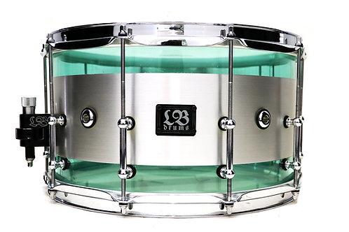 14x8 Acrylic/Aluminium Hybrid Snare
