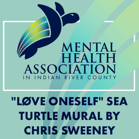 """Løve Oneself"" Sea Turtle Mural"