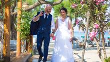 Mariage de Chris et Cindy sur l'île de Kos en Grèce