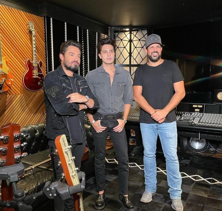 Luan Santana e Fernando e Sorocaba preparam surpresa para os fãs em live