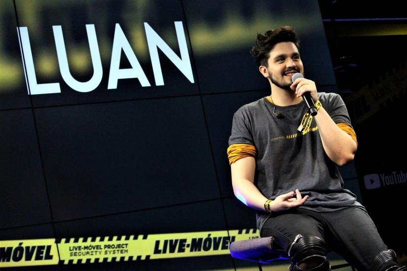 Luan Santana coletiva de lançamento DVD EP Live-Móvel (Foto: Google Imagens)
