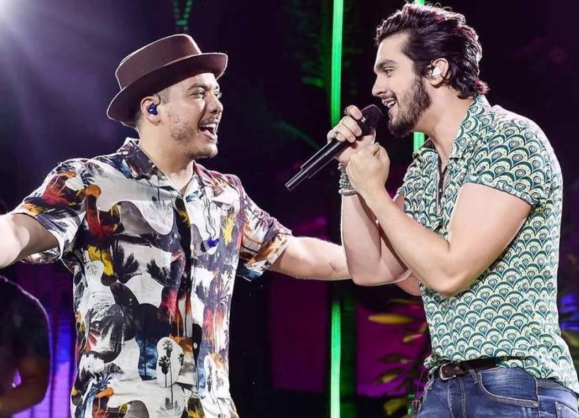 São João: Luan Santana fará live com Wesley Safadão em junho