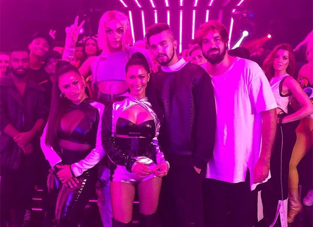 Luan Santana, Simone e Simaria e Pabllo Vittar gravam clipe da Coca-Cola