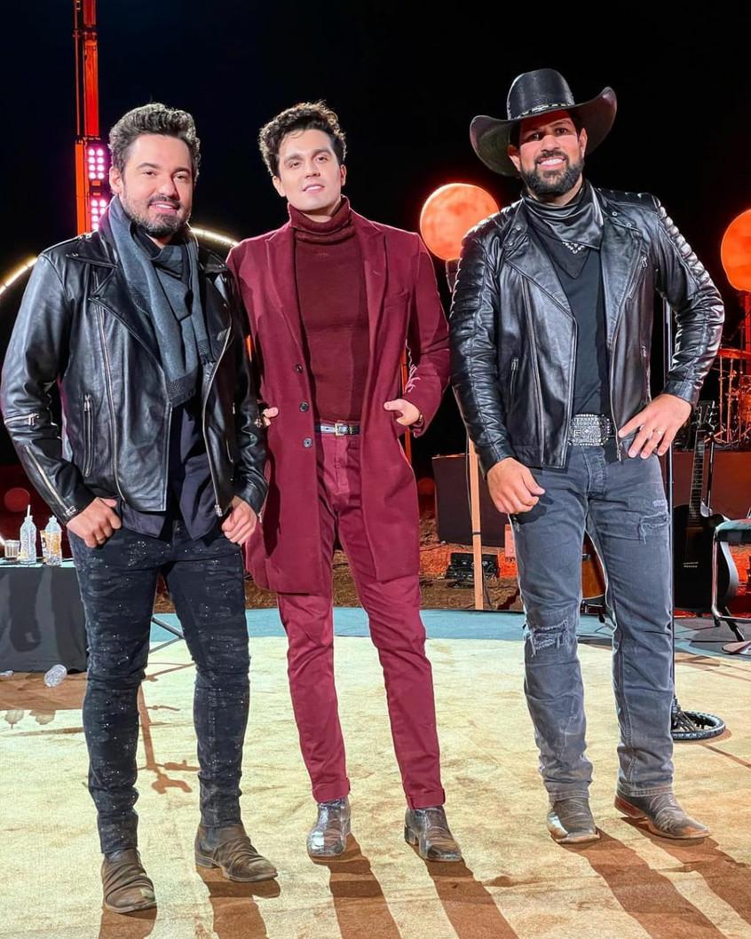 """A live """" O início"""" de Luan Santana e Fernando e Sorocaba é sucesso mesmo depois da transmissão"""