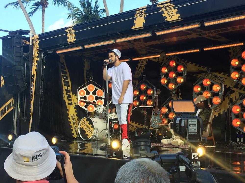 Luan Santana no show da Carreta em Maceió (Foto: Google Imagens)