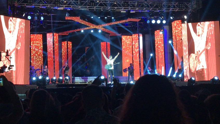 Luan Santana e Nego do Borel agitam a noite na Expomontes.
