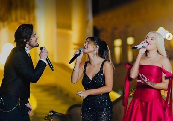 """Luan Santana, Luísa Sonza e Giulia Be alcançam números impressionantes durante a live """"Clássico"""