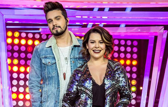 Fernanda Souza e Luan Santana mostram seus looks do Só toca Top