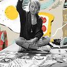 Amanda Haran Textile Artist Sewing
