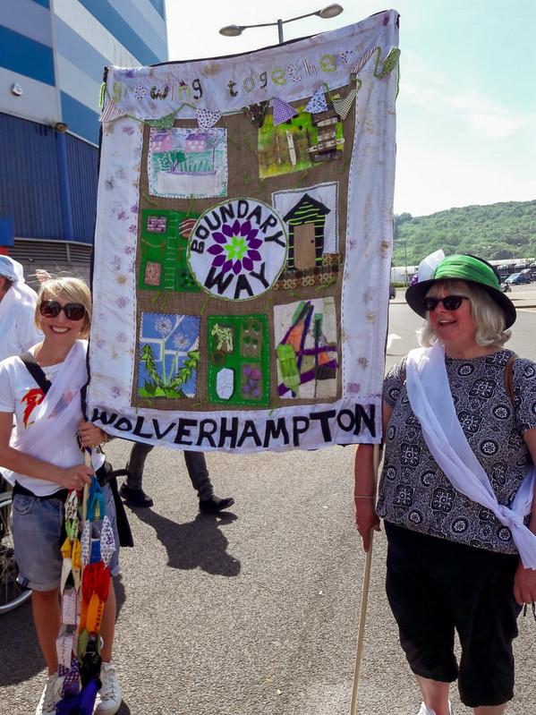 Boundary Way, Wolverhampton Banner