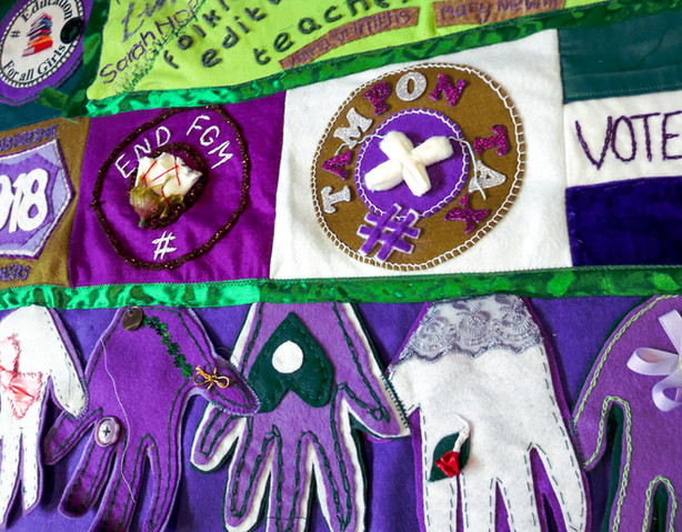 Shropshire Processions Banner Detail