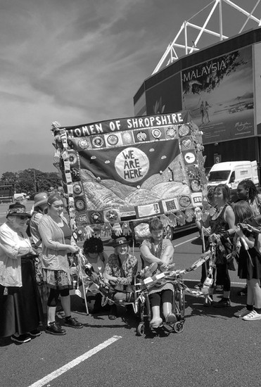 Preparing To Go On The Cardiff Procession