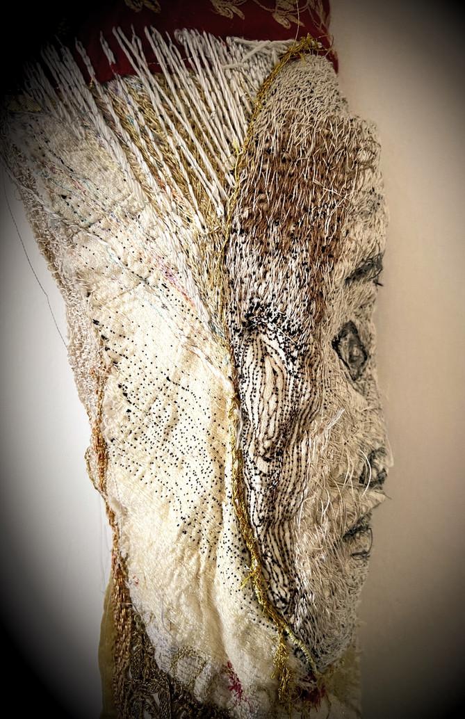 Book Of Kells Face Profile