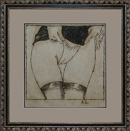 """Продажа 1/1000 Доля """"Трусы"""" Roy Lichtenstein"""