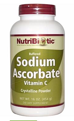 NutriBiotic, Буферизованный содой витамин C