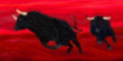 ATAKA  | attack | Василий Сидорин | VASILY SIDORIN | картина маслом | в багете | sidorin.info