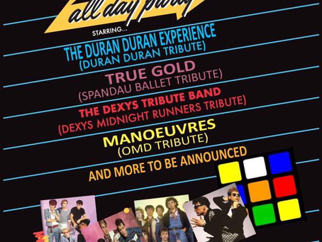 DDE performing at Mockness Festival 2019
