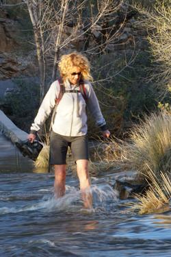 High water, Sabino Canyon, AZ