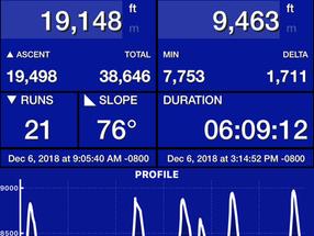 Ski Tracks - the app