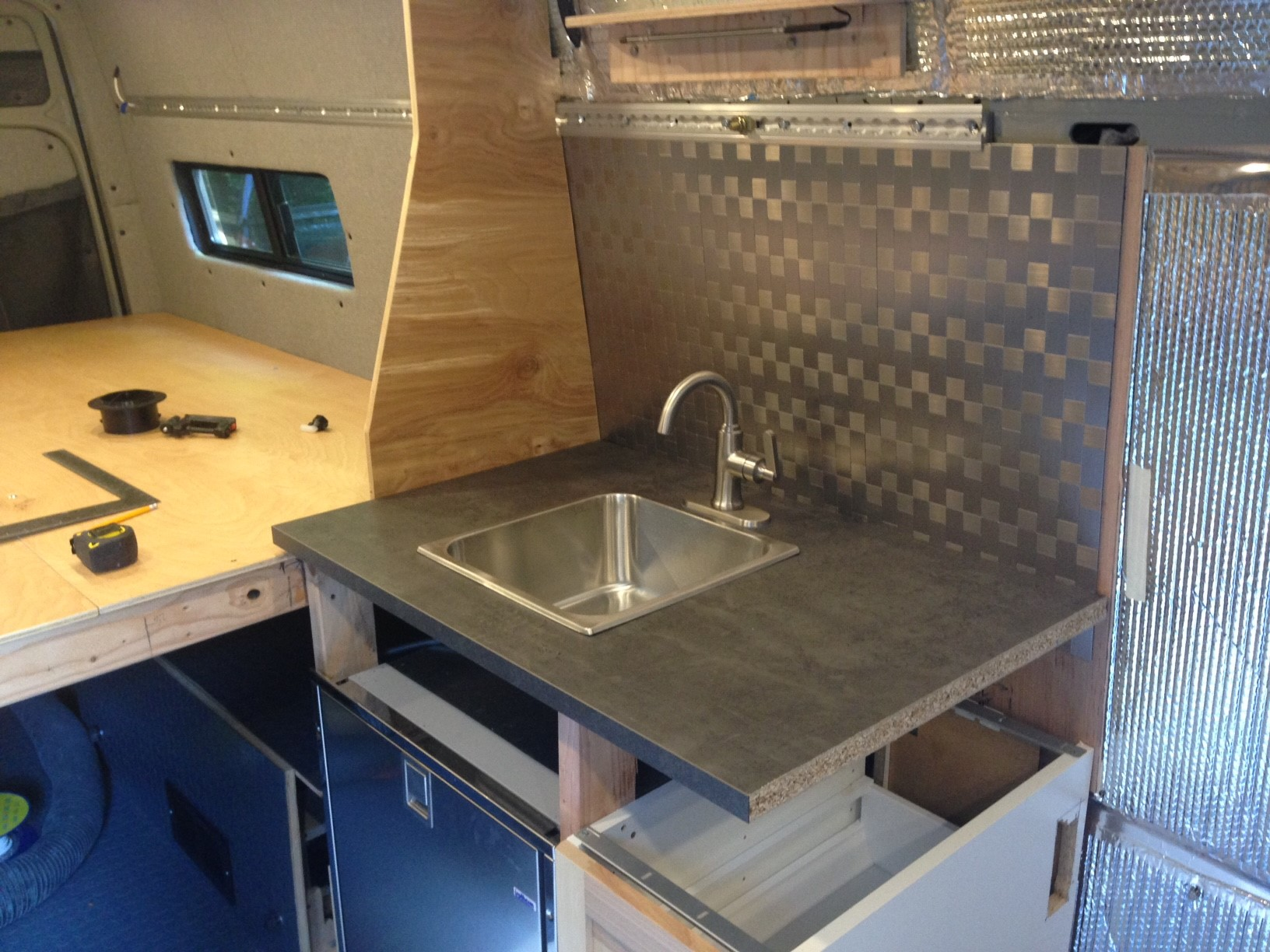 wet galley side