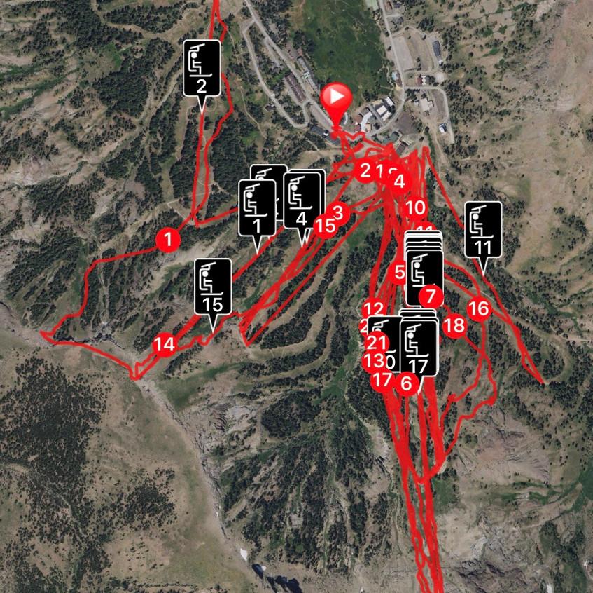Ski Tracks 1